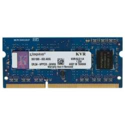 SODIMM KINGSTON  DDR3/1600 4096M DDR3L 1.35V  (KVR16LS11/4)