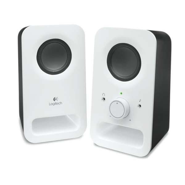 BOXE 2.0 Logitech Z150  RMS power: 3 W , White (980-000815)
