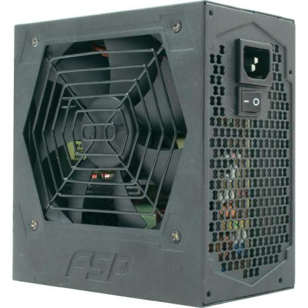 SURSA  FORTRON HEXA+, 400W real (max. 450W), fan 12cm, 80+ eficienta, fully sleeved, 1x CPU 4+4, 2