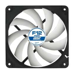"FAN FOR CASE ARCTIC. ""F12 PWM Rev.2"" 120x120x25 mm, w/ PWM, low noise FD bearing"