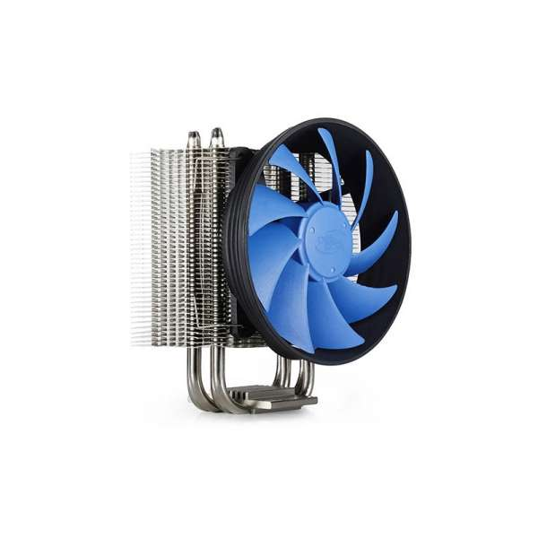 COOLER DEEPCOOL CPU, universal, soc LGA1366/115x/775 & AMD FM1/AM3/AM2+/AM2, Al, 4 HeatPip