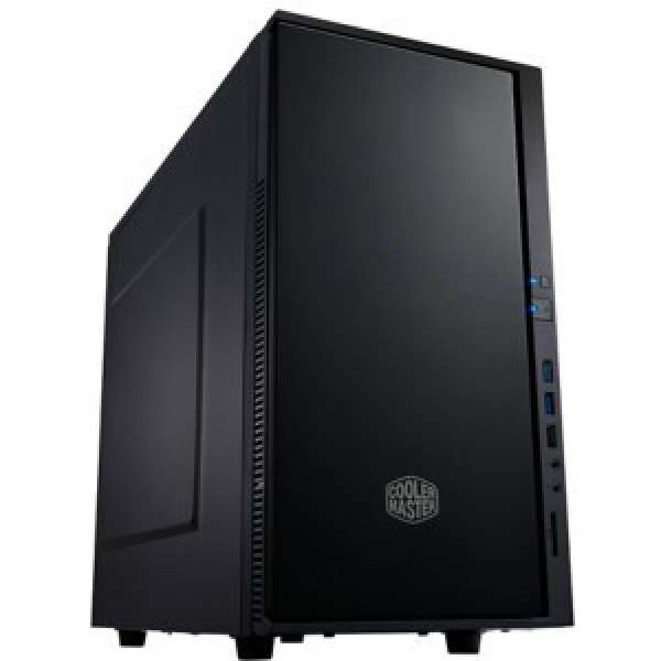 Renew CARCASA COOLER MASTER  Silencio 352, mini-tower, mATX, 2* 120mm fan (inclus), I/O panel, ant